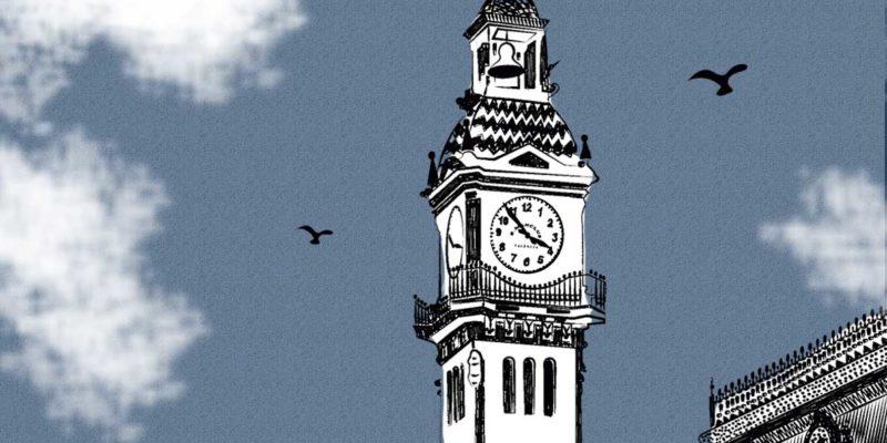 Edificio El Reloj Puerto de Valencia