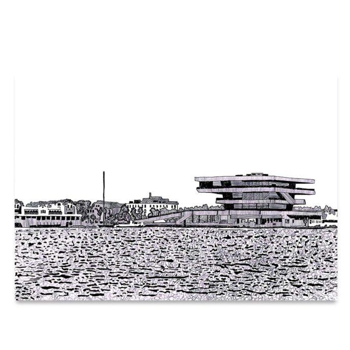 Edificio Veles e Vents de la Marina de Valencia